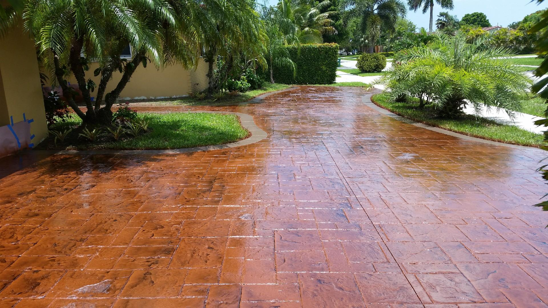 Choose from different styles of  Decorative Concrete for your floors